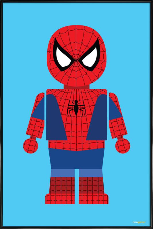 Spiderman Toy poster con cornice