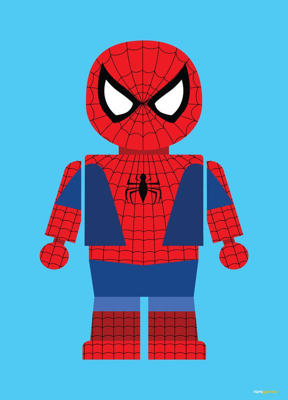 Spiderman Toy Canvas Print