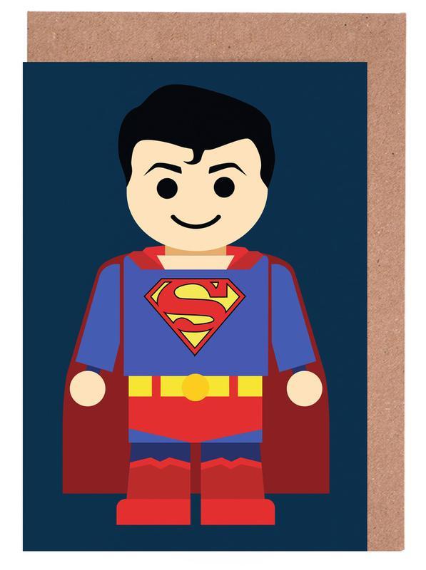 Kunst voor kinderen, Superman, Superman Toy wenskaartenset