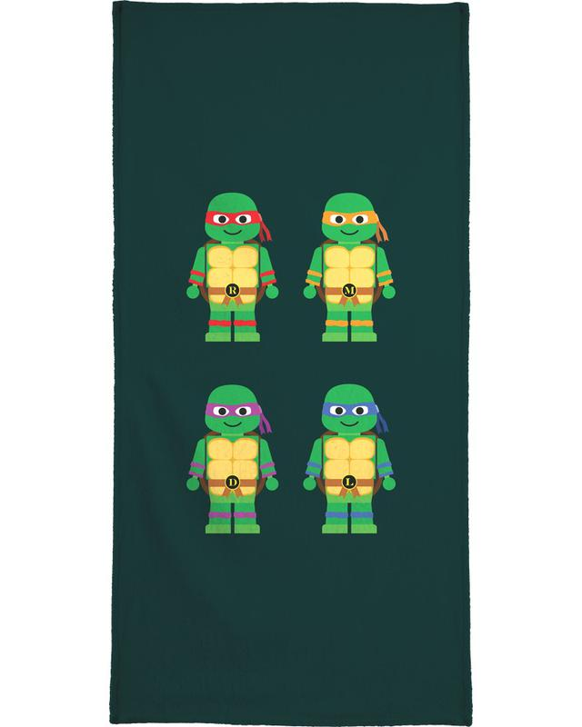 Teenage Mutant Ninja Turtles serviette de bain