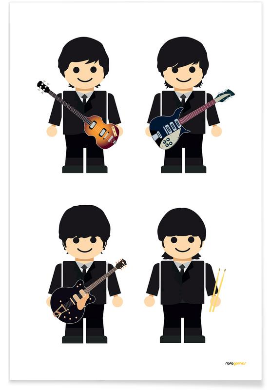 The Beatles, The Beatles Toy affiche