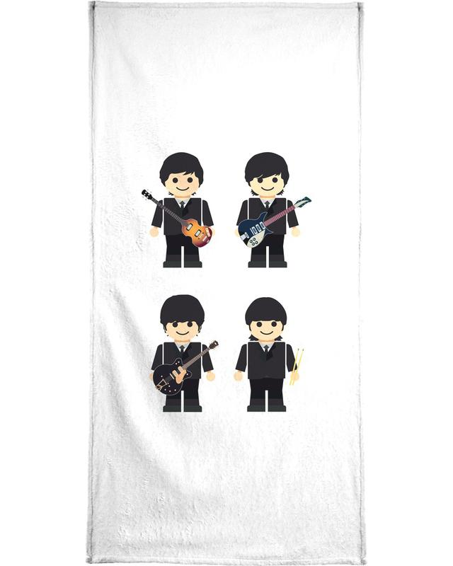 The Beatles Toy -Handtuch