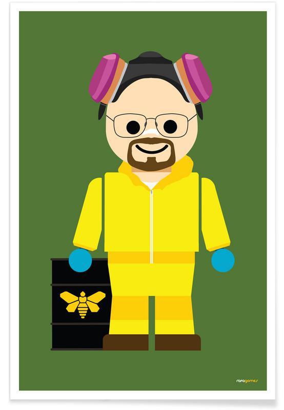 Serien, Walter White Heisenberg Toy -Poster
