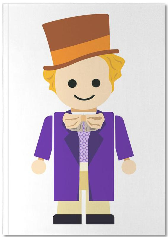 Kinderzimmer & Kunst für Kinder, Willy Wonka Toy Notebook