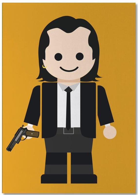 Pulp Fiction Toy 01 Notepad