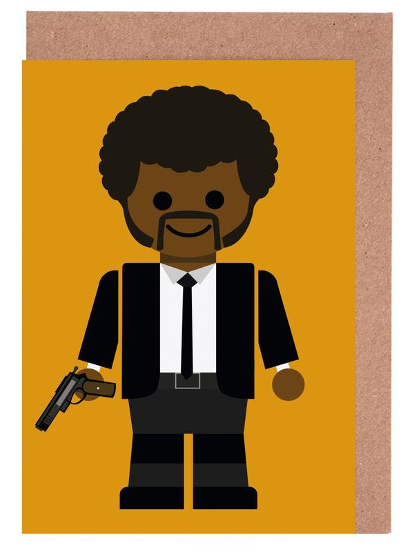 Pulp Fiction Toy 02 Greeting Card Set