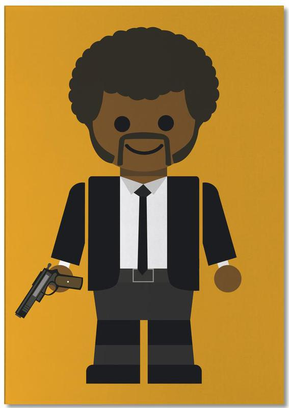 Pulp Fiction Toy 02 Notepad