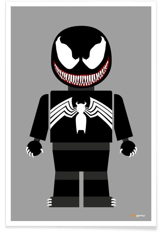 Art pour enfants, Venom Toy affiche