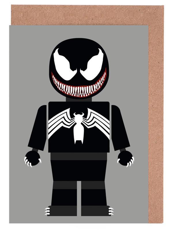 Kunst voor kinderen, Venom Toy wenskaartenset