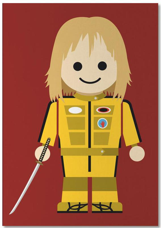 Kill Bill Toy Notepad