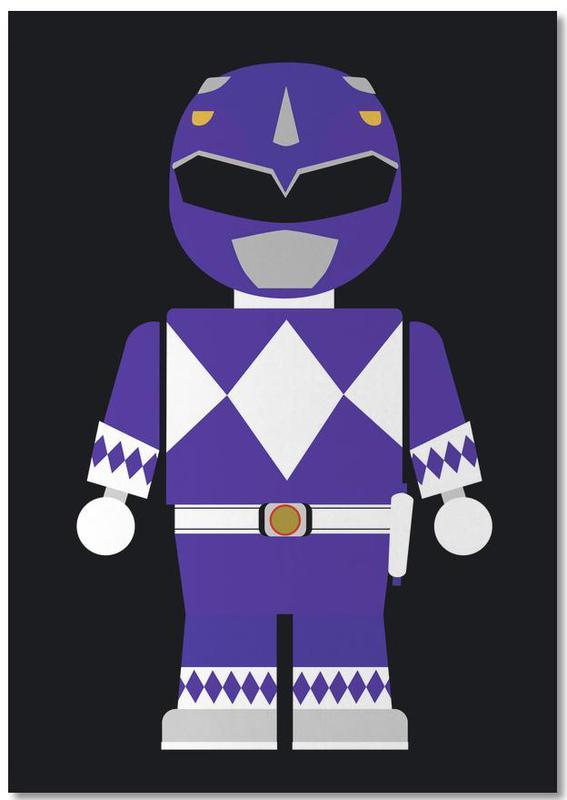 Filme, Kinderzimmer & Kunst für Kinder, Power Ranger Toy Blue Notebook