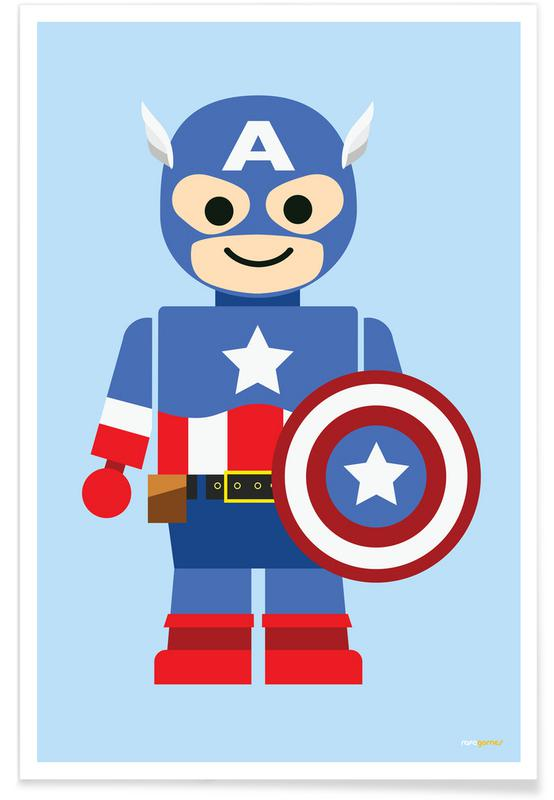 Captain America Toy affiche