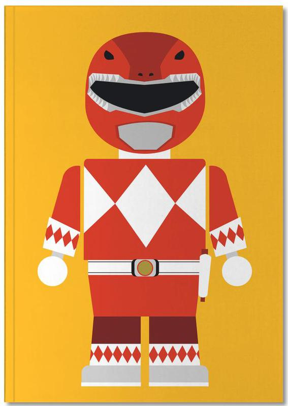 Filme, Kinderzimmer & Kunst für Kinder, Power Ranger Toy Red Notebook