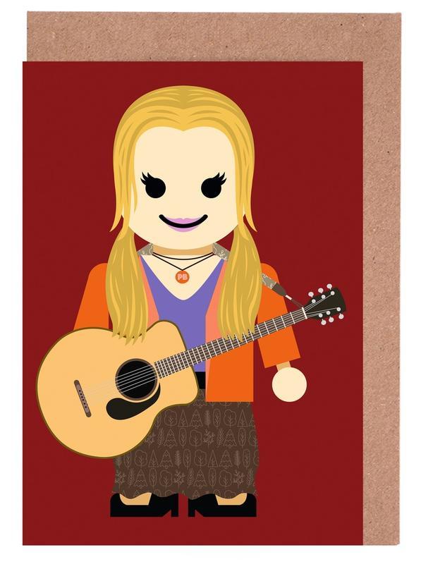 Kunst voor kinderen, Tv-series, Phoebe Buffay Toy wenskaartenset