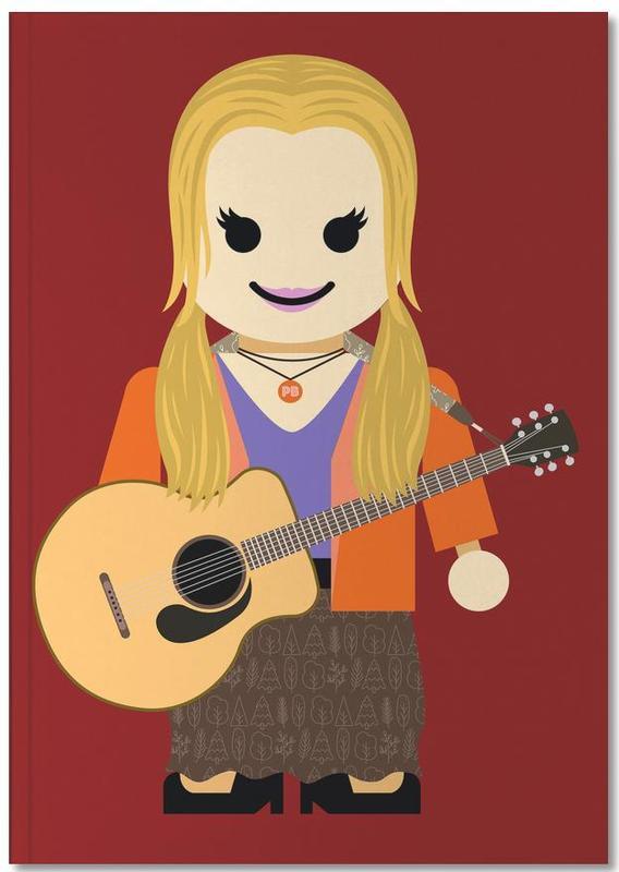 Art pour enfants, Séries TV, Phoebe Buffay Toy Notebook
