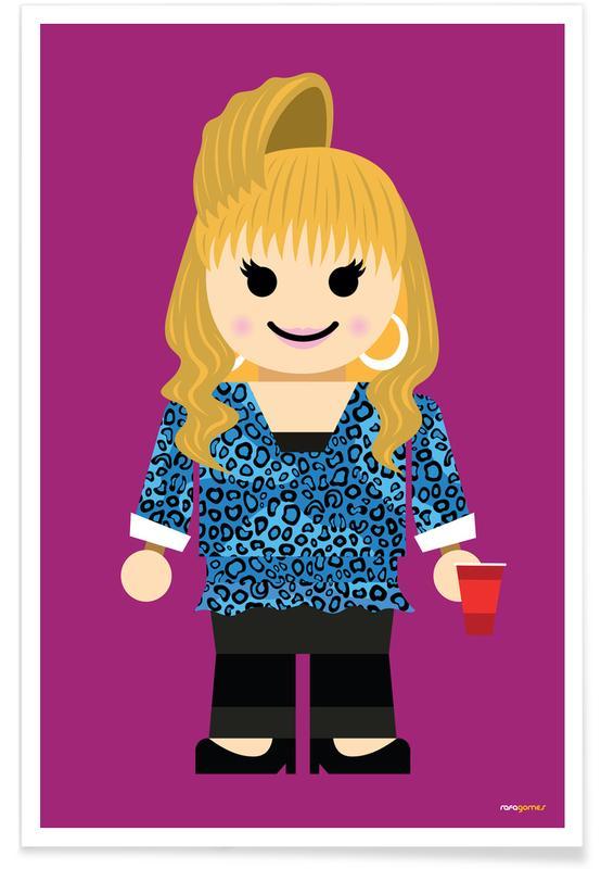Rachel Green Toy poster