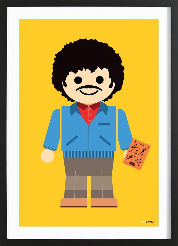 Ross Geller Toy Framed Print