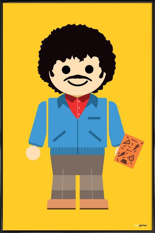 Ross Geller Toy Framed Poster