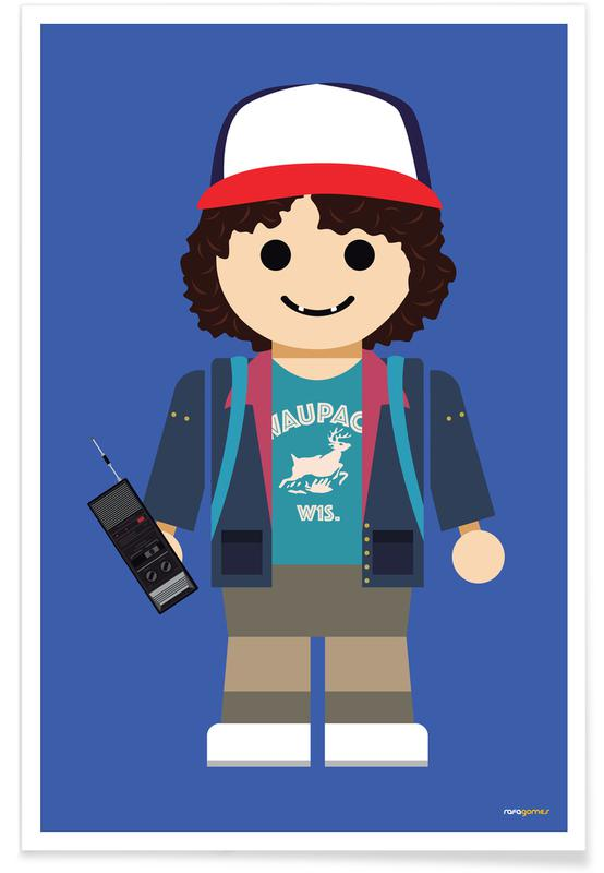 Dustin Toy Poster