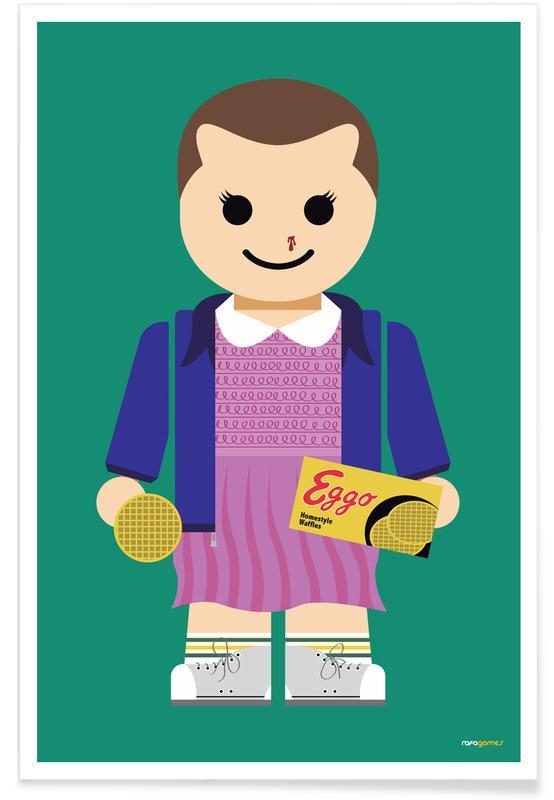 Kunst voor kinderen, Tv-series, Eleven Toy poster