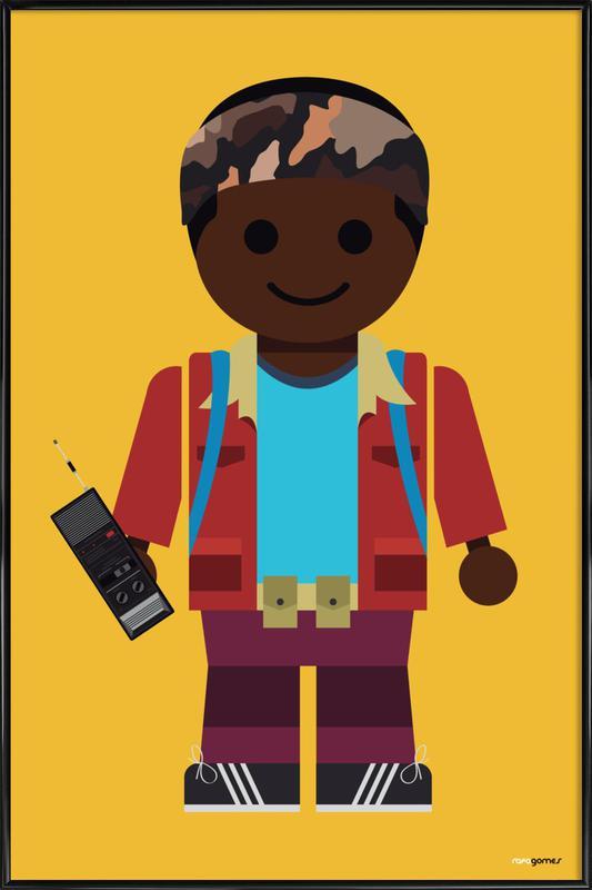 Lucas Toy Framed Poster