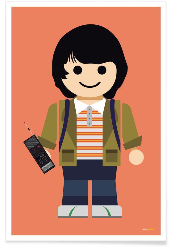 Kunst voor kinderen, Tv-series, Mike Toy poster