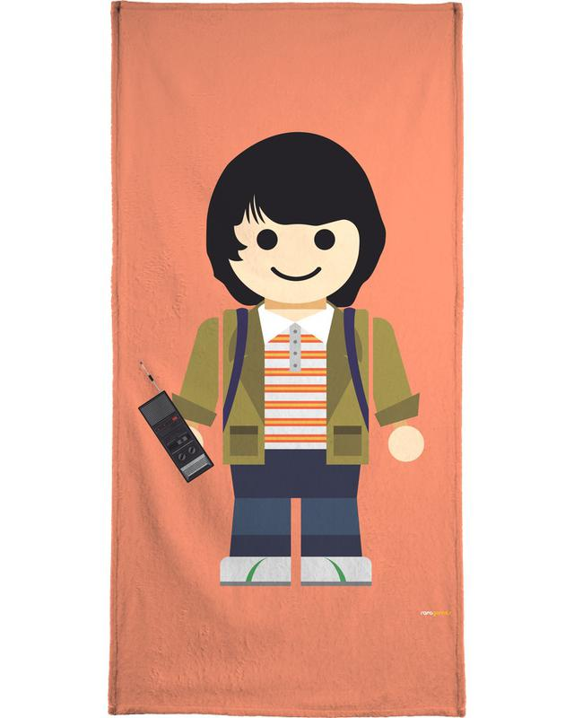 Mike Toy Beach Towel