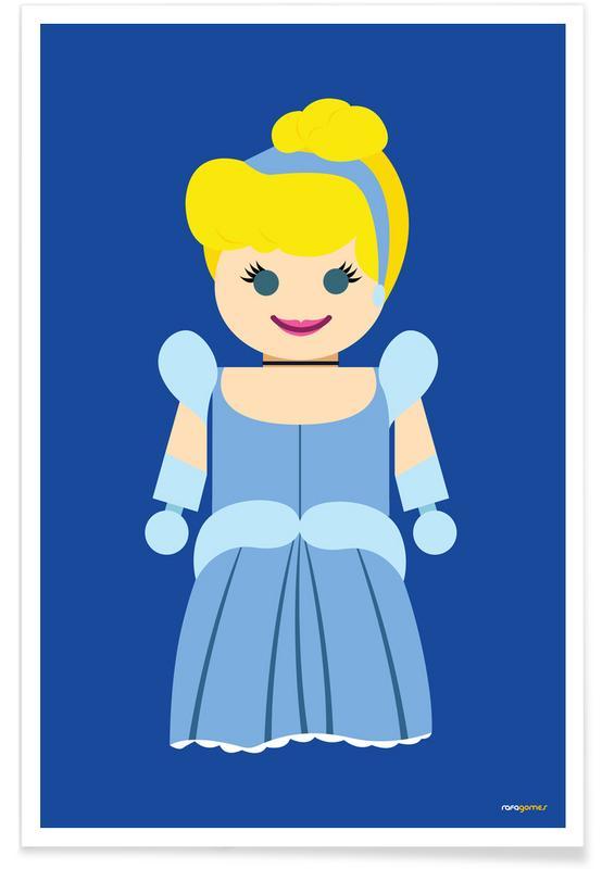 Kunst voor kinderen, Cinderella Toy poster