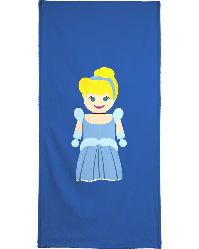 Cinderella Toy Beach Towel