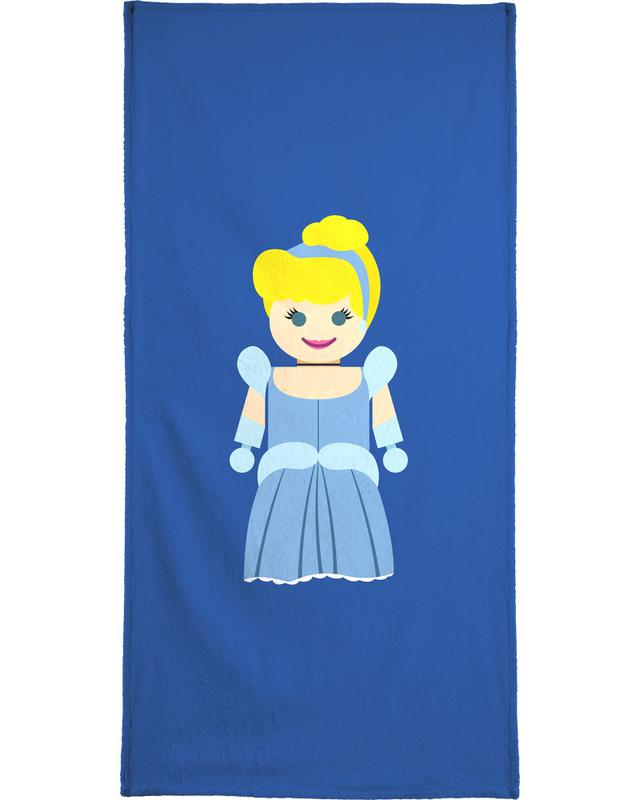 Cinderella Toy Bath Towel