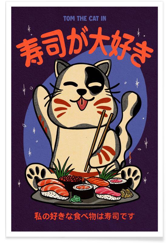 Cats, Sushi Ga Daisuki Poster