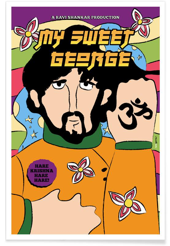 The Beatles, Sweet George -Poster