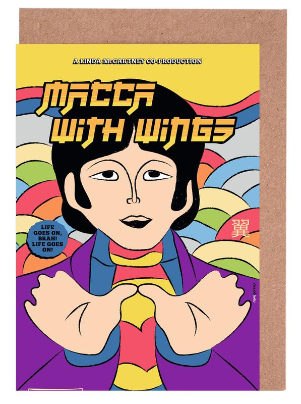 The Beatles, Macca With Wings wenskaartenset
