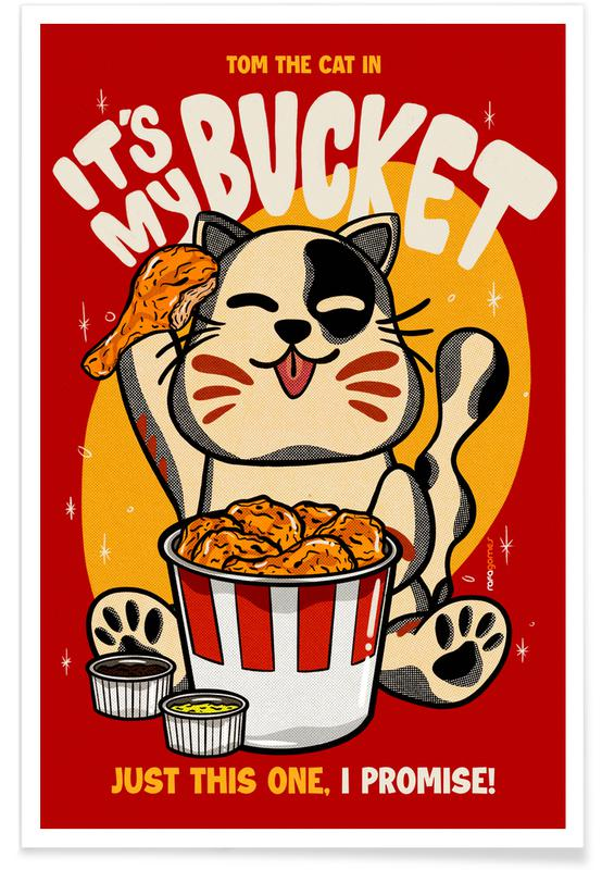 Cats, Japanese Inspired, Travel, My Bucket Poster