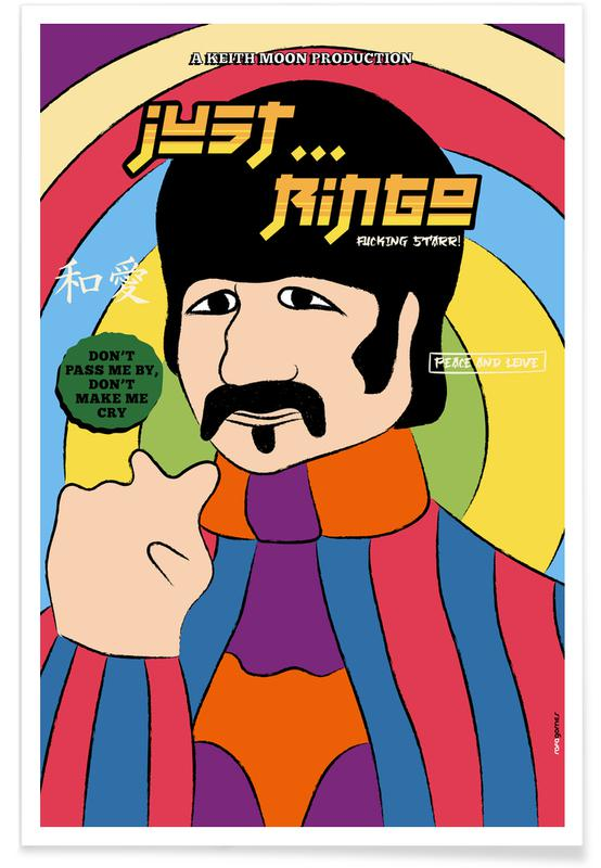 The Beatles, Just Ringo Poster