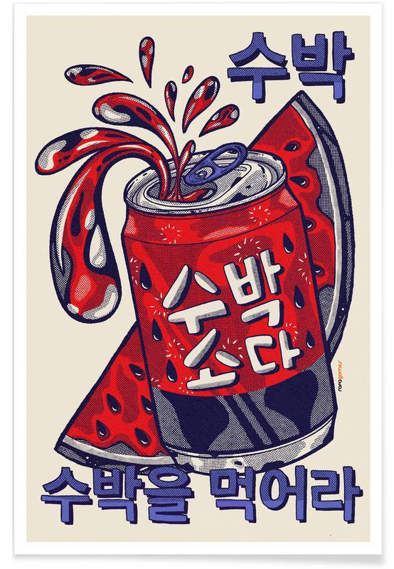 D'inspiration japonaise, Watermelon Soda affiche