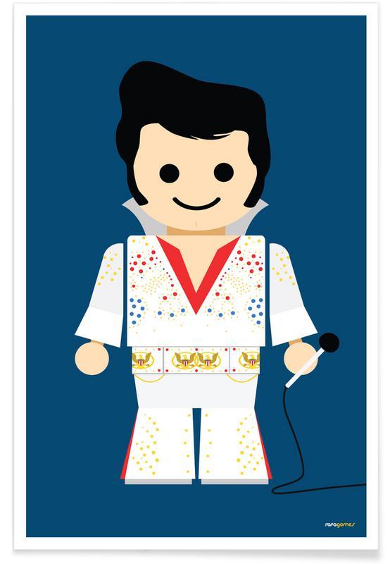 , Elvis Toy poster