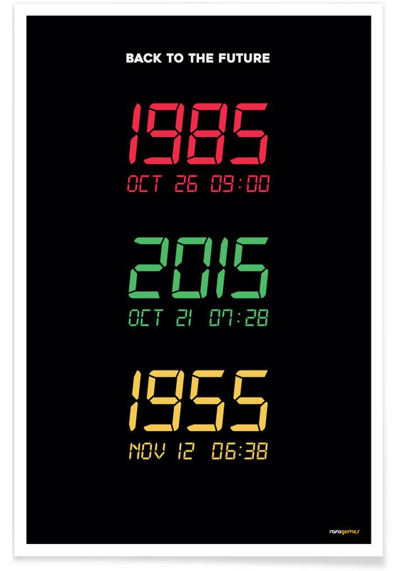 Movies, TV Shows, Back to the Future Poster