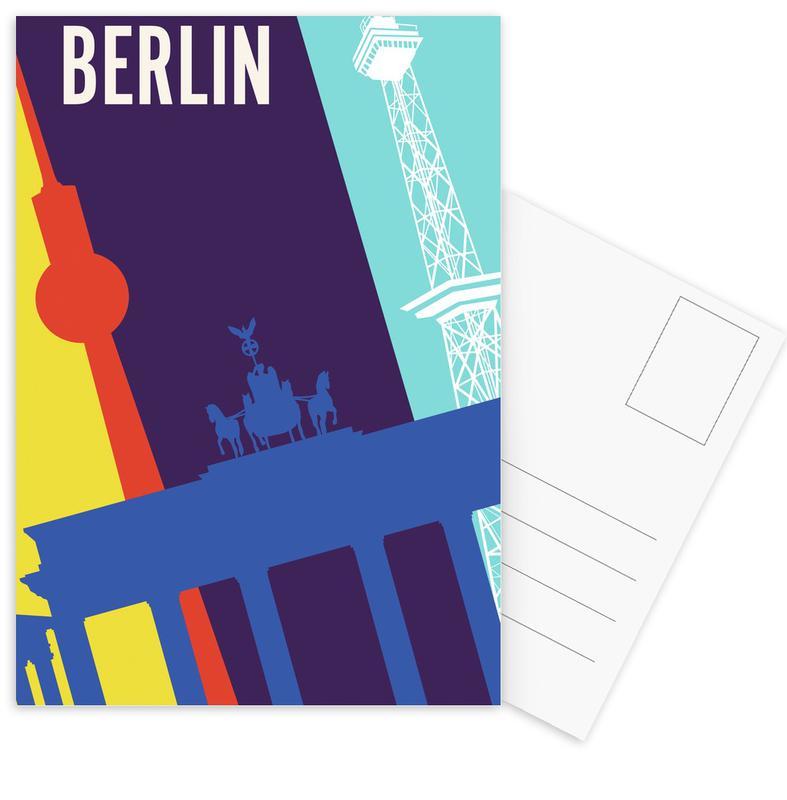 Berlin Icons Postcard Set