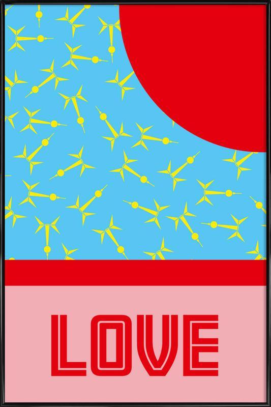 Berlin Love affiche encadrée