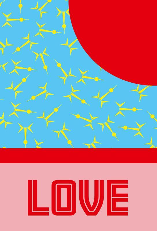 Berlin Love -Acrylglasbild