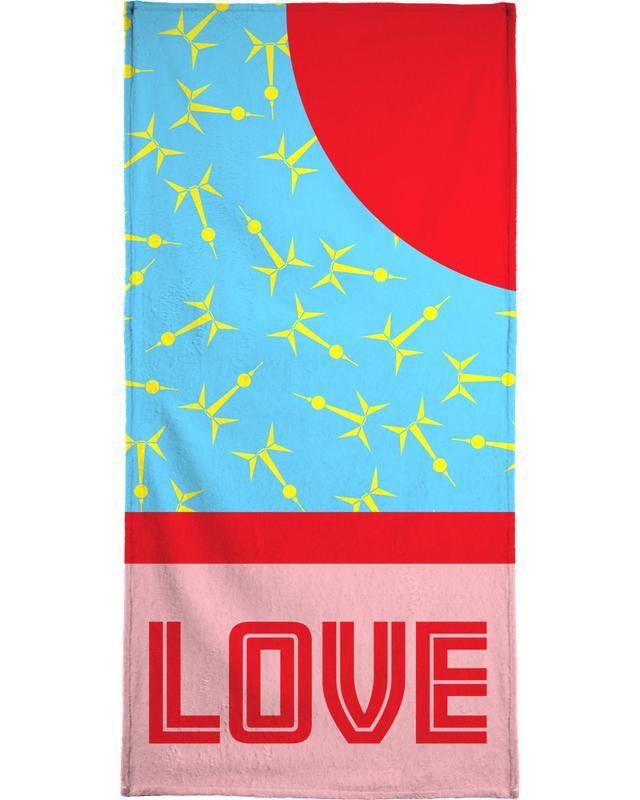 Berlin Love Bath Towel