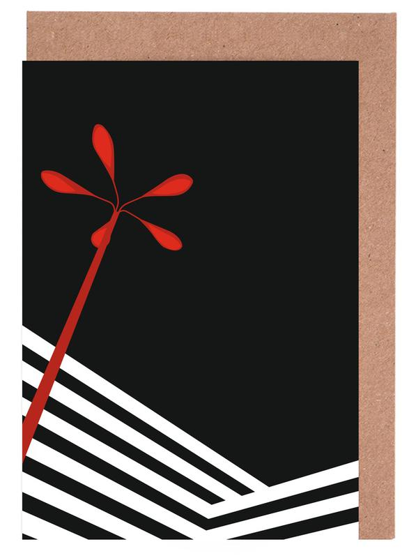Architectural Details, Berlin, Streetlamp Greeting Card Set