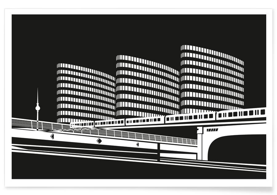 Berlin Jannowitzbrücke -Poster
