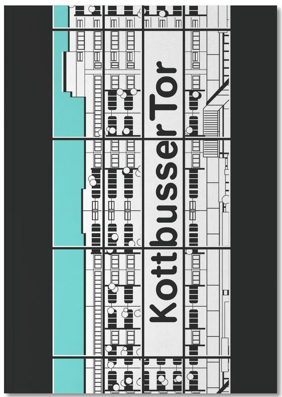 Berlin Kottbusser Tor Notebook