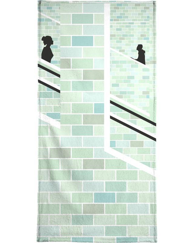 Alexanderplatz Underground Bath Towel