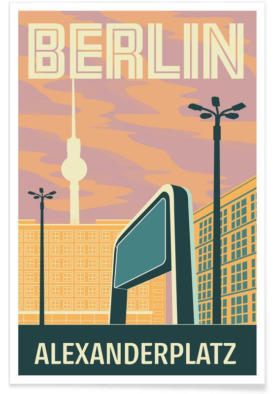Berlin Alexanderplatz -Poster