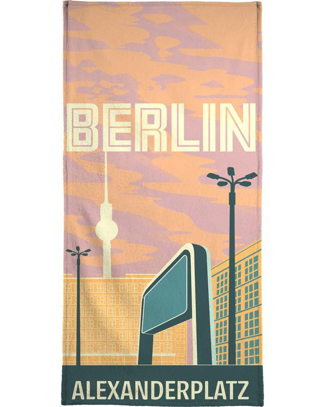 Berlin Alexanderplatz Bath Towel