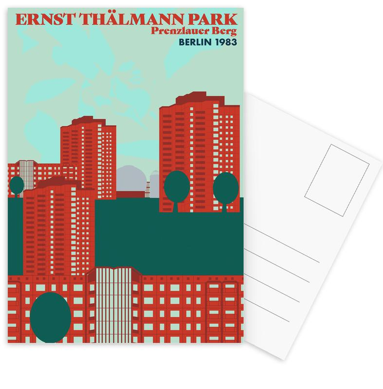 Ernst Thälmannpark Postcard Set