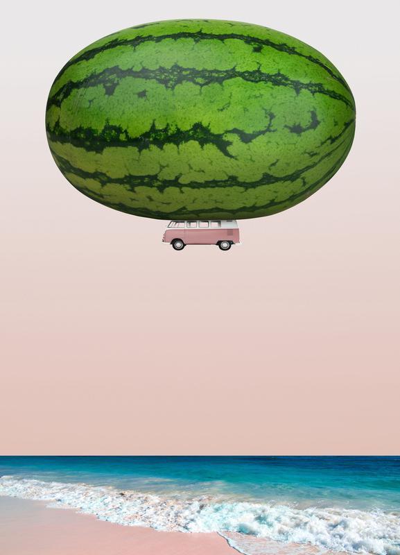Melon Ship toile